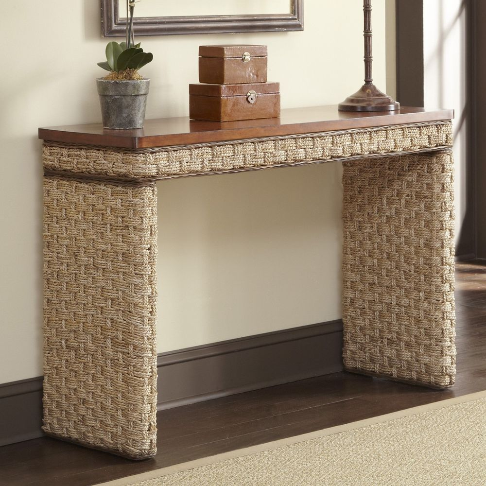 Entry Hallway Accent Sofa Console Table