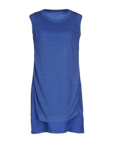 EUROPEAN CULTURE Women's Short dress Pastel blue XS INT