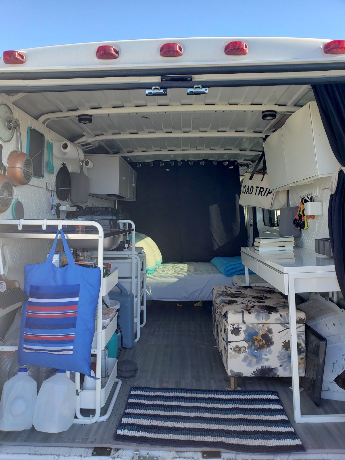 Camper Van Converted With Ikea Products For Just 1 000 Van