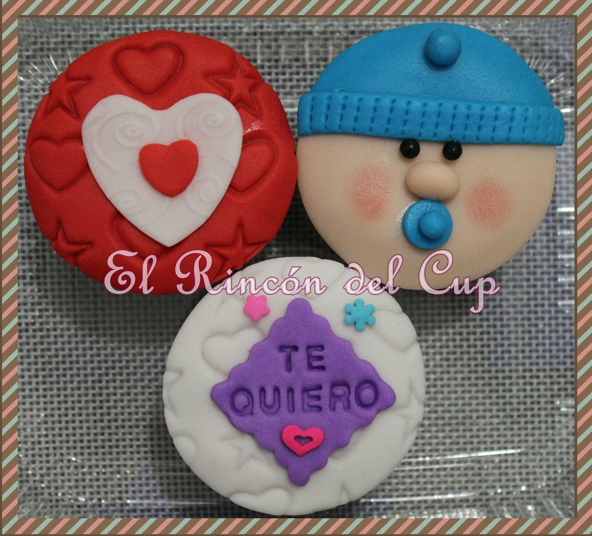 """Cupcakes San Valentín """"El Rincón del Cup"""""""