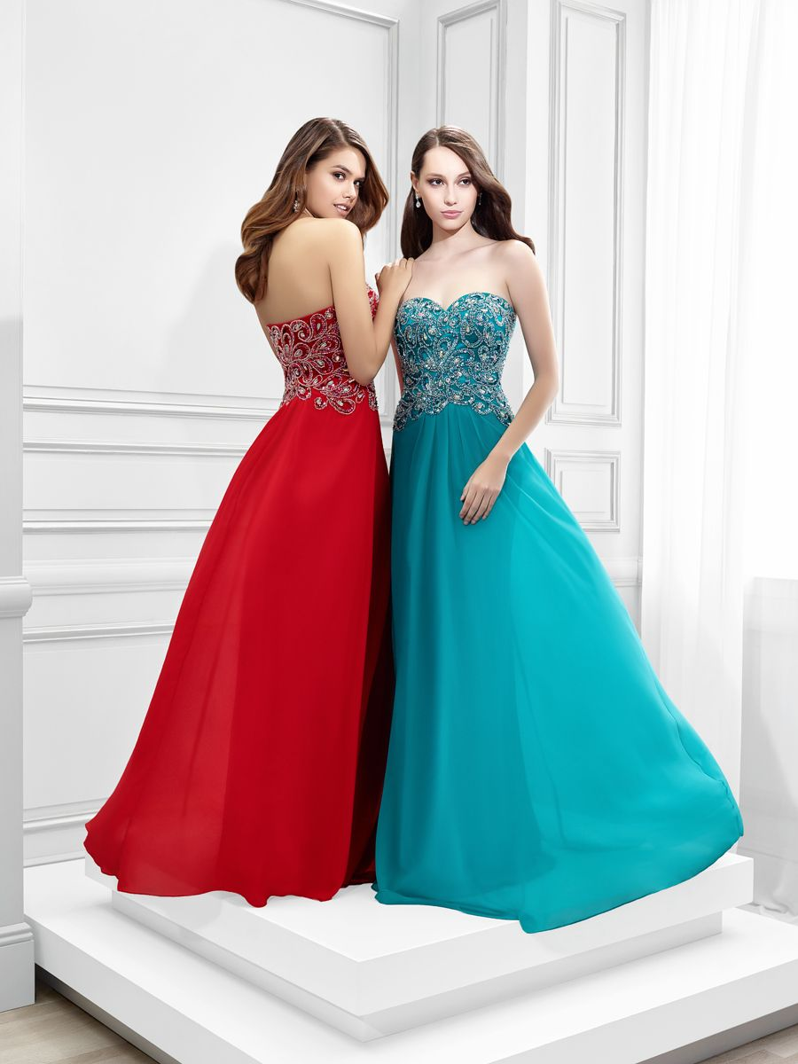 Val Stefani 2016 Prom Style 2807RG, Sweetheart neckline, strapless ...
