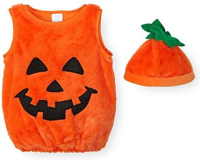 Koala Kids Neutral 2 Piece Orange Pumpkin Halloween Costume with Hat  sc 1 st  Pinterest & Your little sweetie will be the pick of the patch in this Koala Kids ...