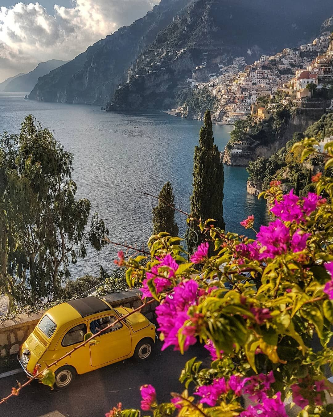 Positano, Amalfi Coast, Italy #beautifulplaces