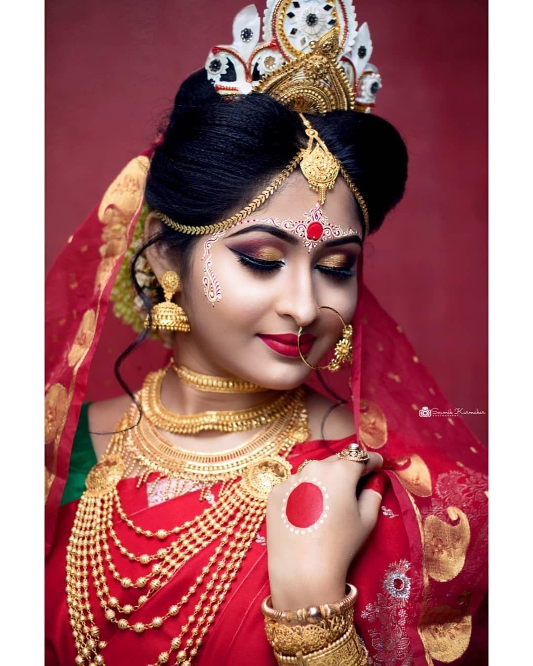 Pin by Shradhanjali Behera on bride Indian bride makeup