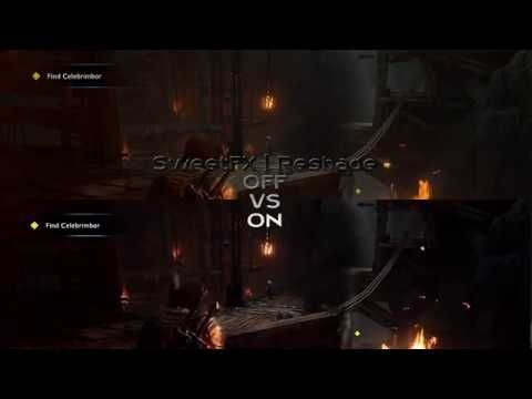 MIDDLE EARTH SHADOW OF WAR MOD | HDR Graphics Mod / SweetFX