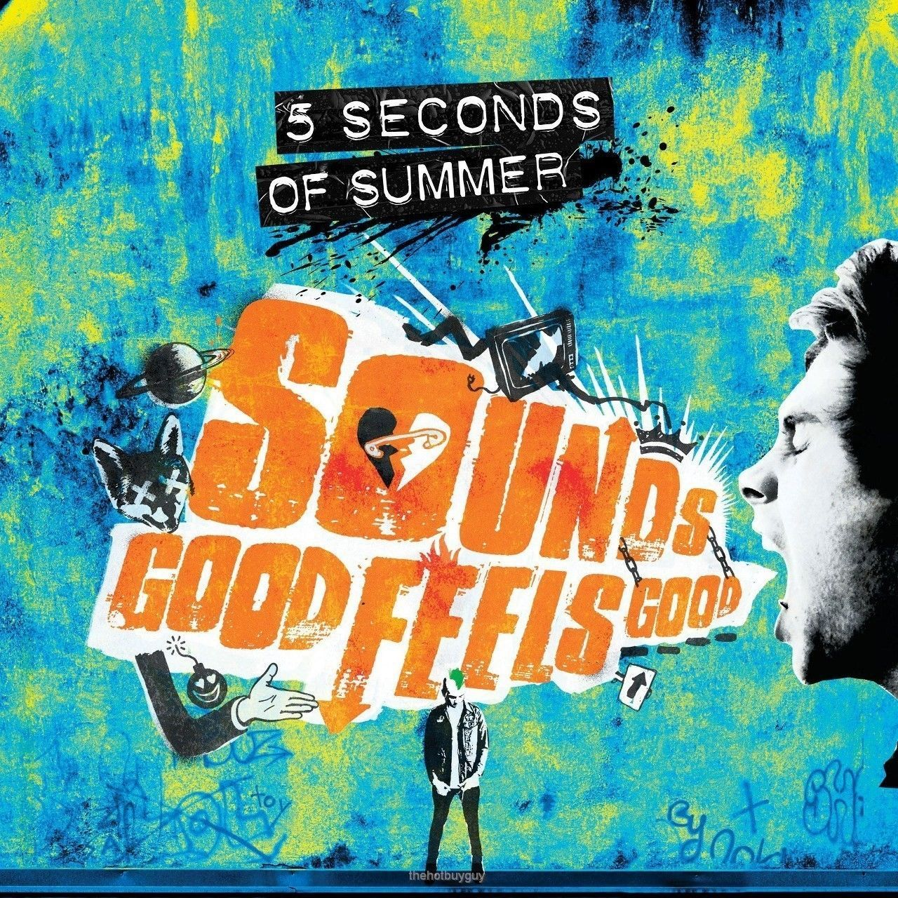 5 Seconds Of Summer Sounds Good Feels Good Target Exclusive Blue