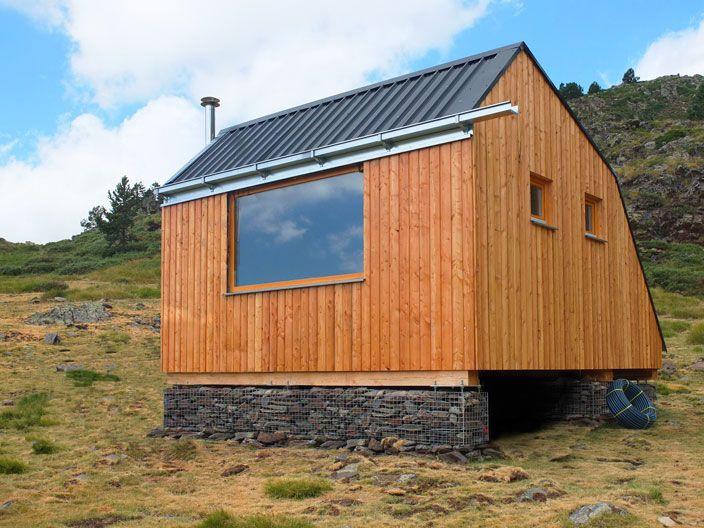 Casas de madera de dise o prefabricadas ecologicas y modernas refugi estanilles casas - Casa ecologicas prefabricadas ...