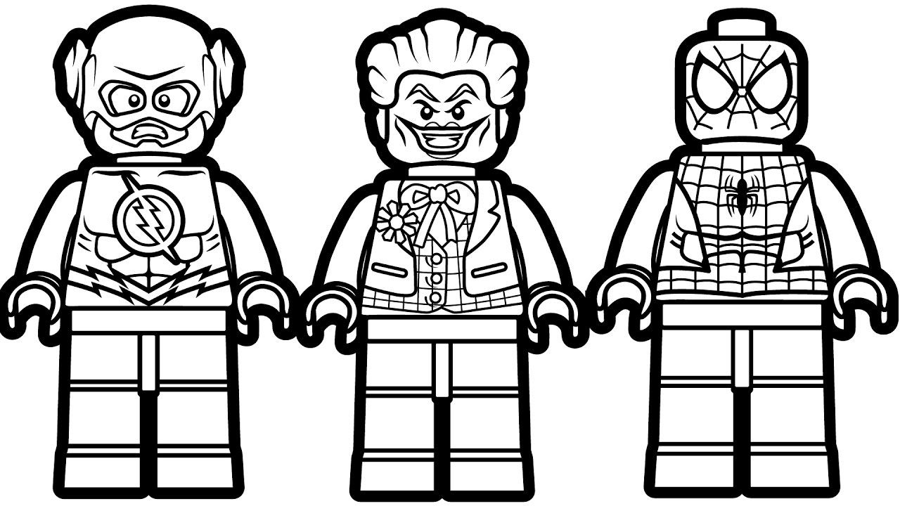 Coloring Pages Lego Lego Coloring Pages Spiderman Coloring Lego Movie Coloring Pages