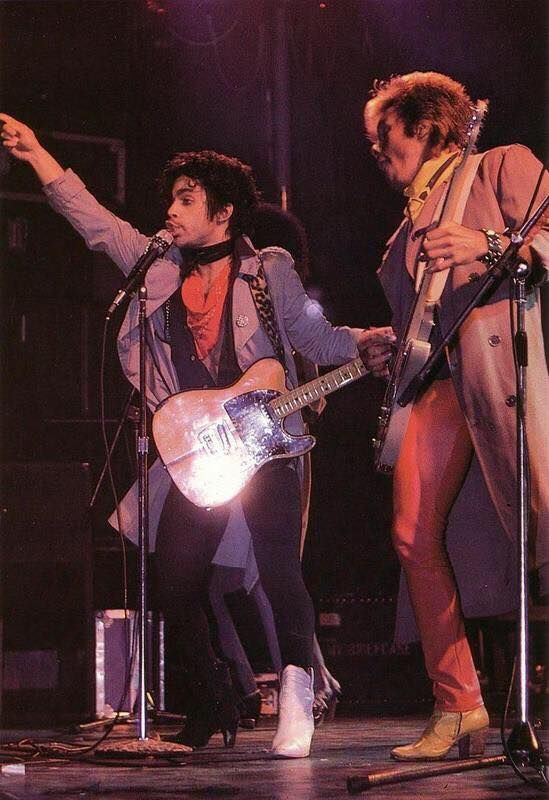Prince and Dez Dickerson Dirty Mind Era 1980
