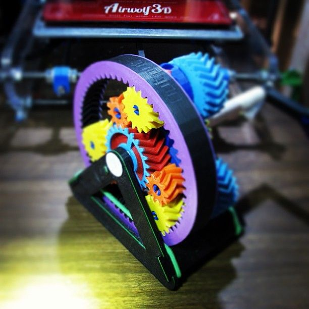 3D printed gears that work. 3d printer, 3d printing