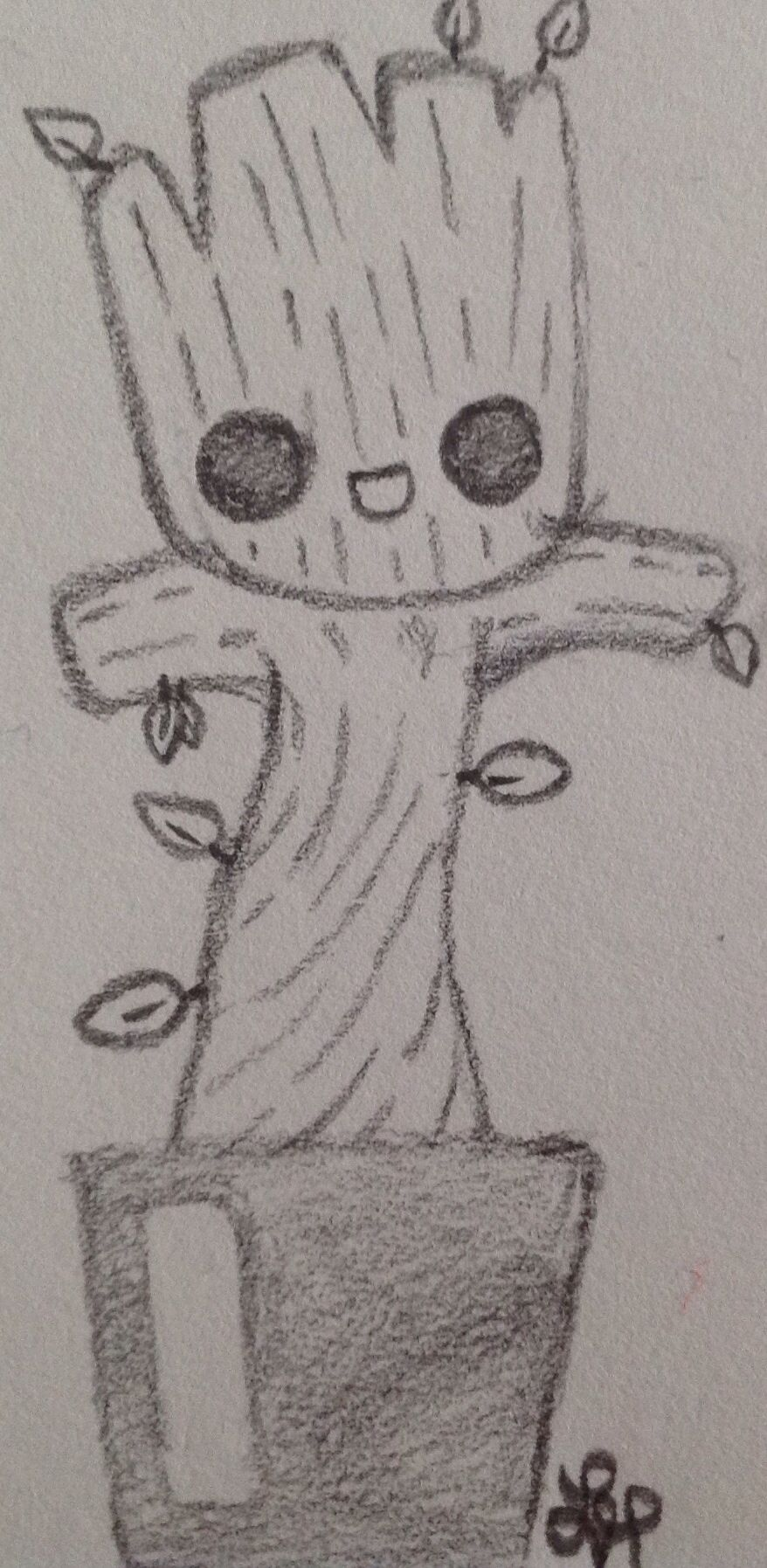 Baby Groot #gardians Of Galaxy Wolf Lyly