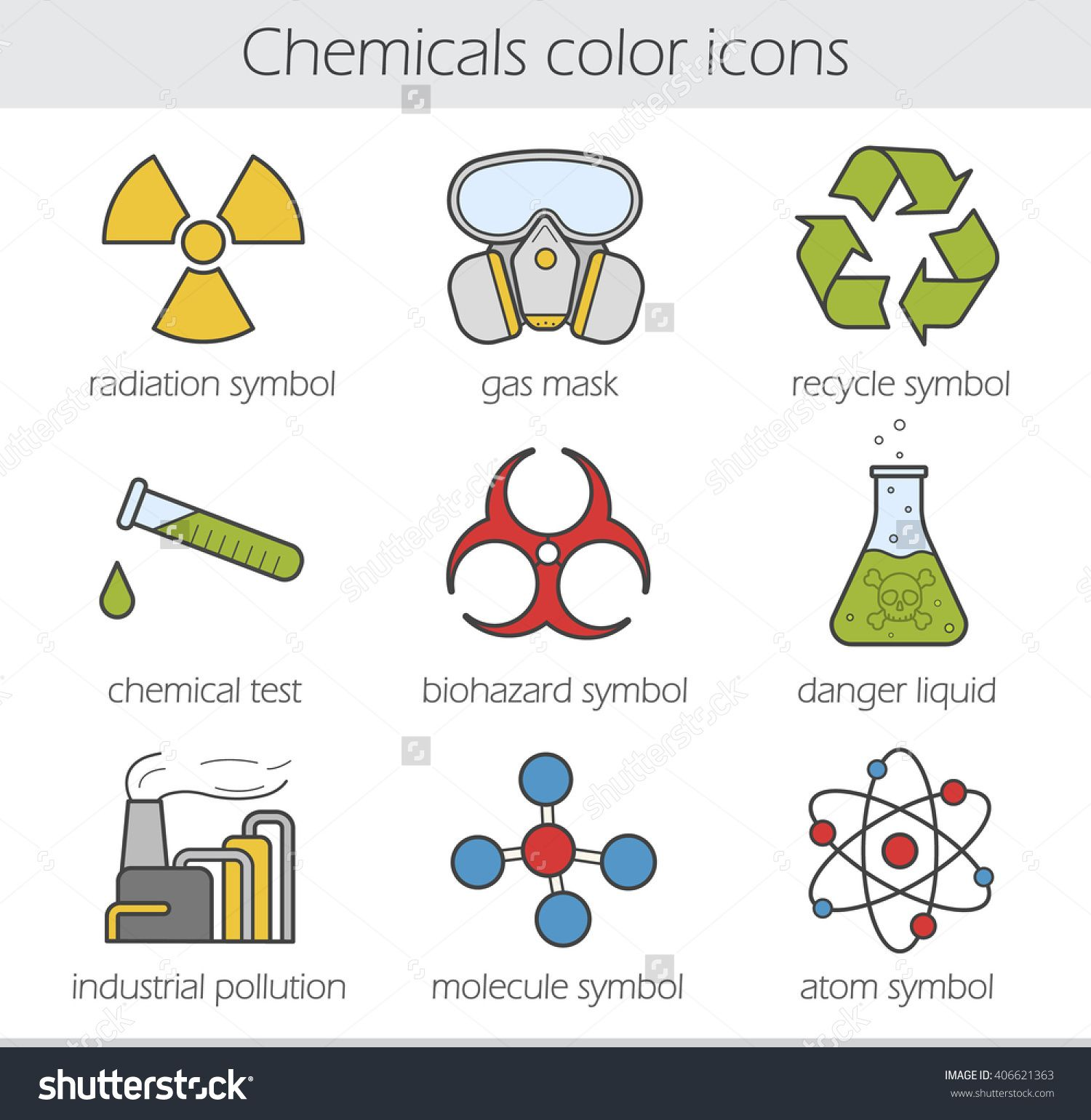 Image result for chemistry symbols Recycle symbol