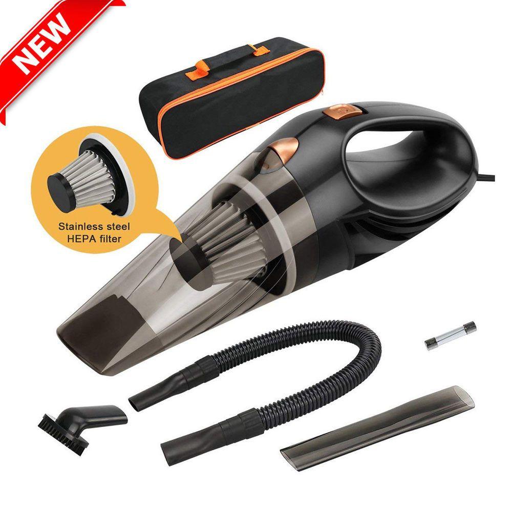 Portable Car Vacuum Cleaner Wet Dry Dirt Dust 12V Handheld