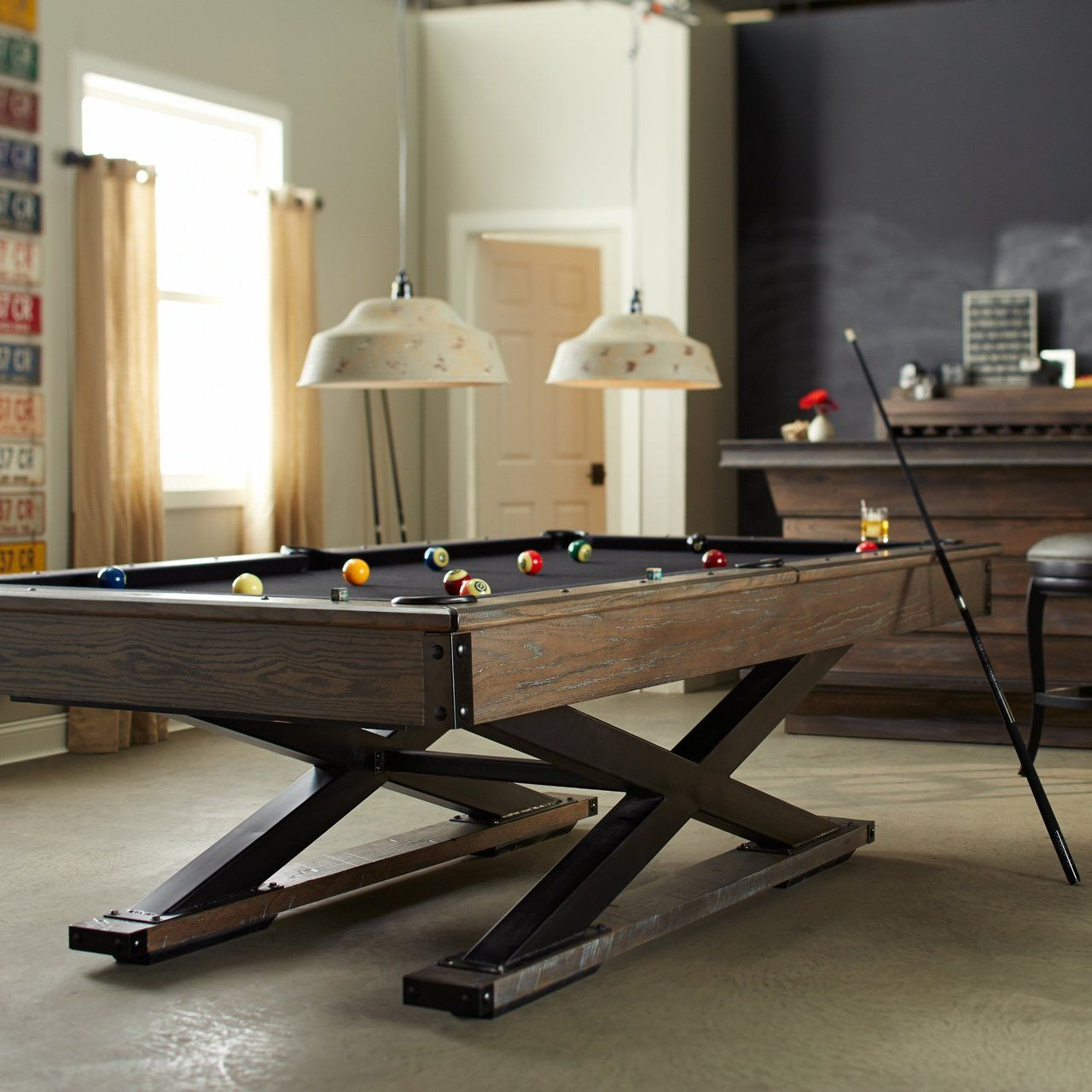 Fancy The Quest Pool Table By American Heritage Billiards - American heritage billiards pool table