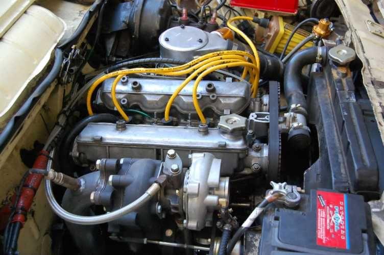 1973 Fiat 125 Engine Bialbero Turbo Met Afbeeldingen 1970s