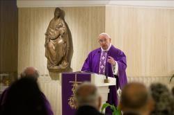 HOMILIAS DEL PAPA FRANCISCO: La misericordia de Dios acaricia las heridas de los pecados-Papa Francisco
