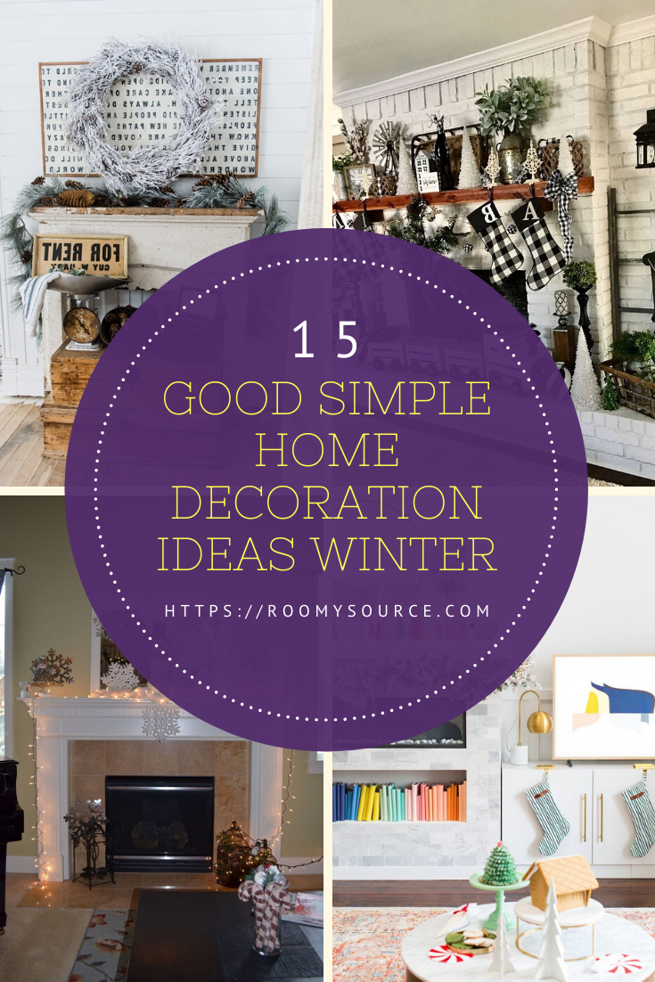 13 Best Simple Home Decoration Ideas Winter #home #homedecorationideas