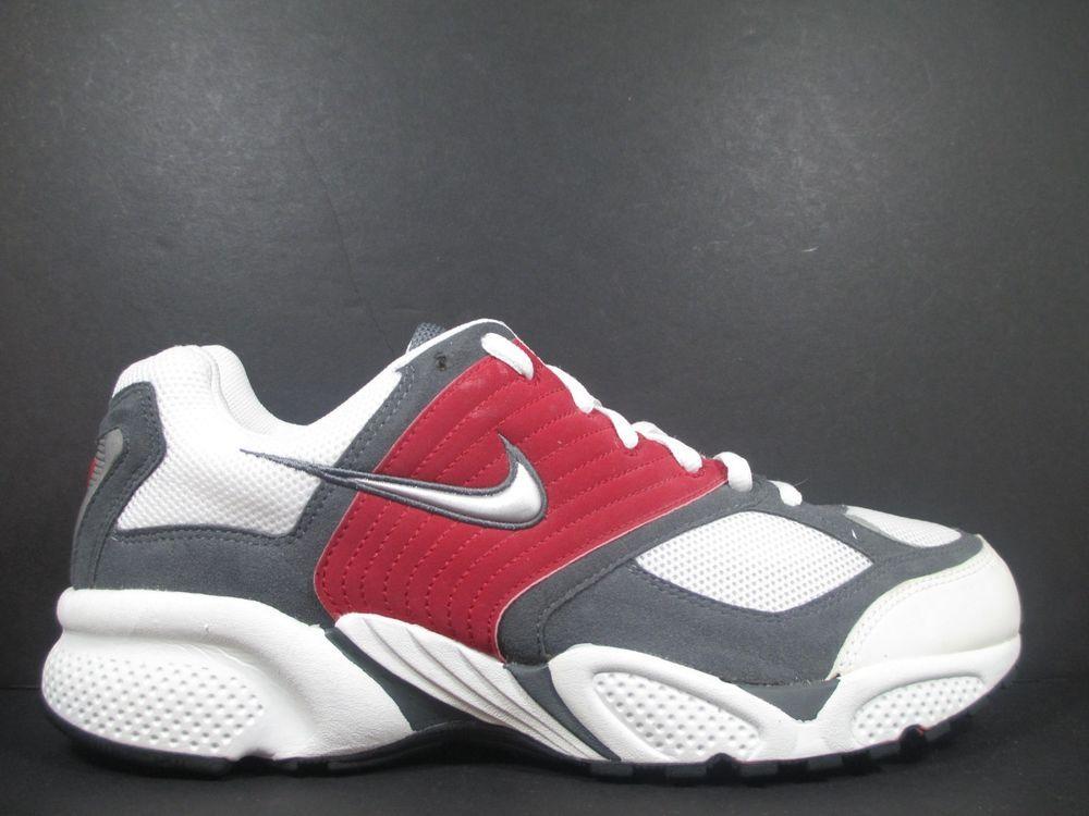 Nike Air Pegasus 2000 Men's Size 14 Running Shoes Red White Grey Silver OG  VTG #