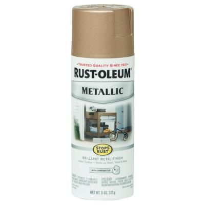 metallic paint home depot. vintage metallic rose gold protective enamel spray paint (6-pack), metallics home depot c