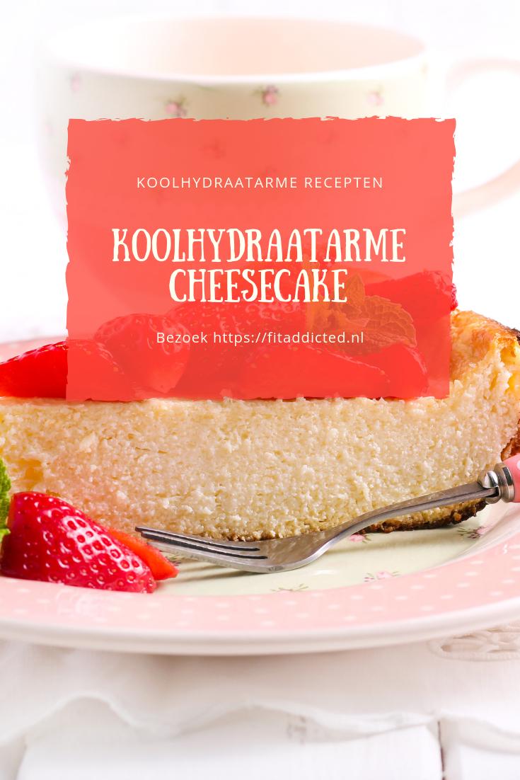 Koolhydraatarme Cheesecake in 15 stappen