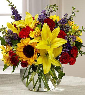 Pin De Arlene S Flowers And Gifts En Birthday Flowers Arreglos Florales Felicitaciones Arreglos