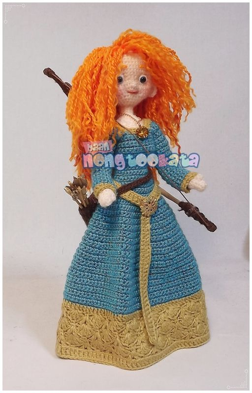 Merida | Crochet,Cute Doll,Amigurumi,Crafts,Handwork 2 | Pinterest ...
