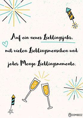 �30 kostenlose Neujahrsgrüße zum Ausdrucken & Verschenken!