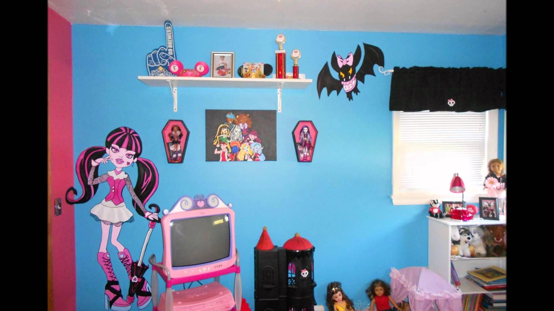 Wie Man Monster High Zimmer Dekor Wohnzimmer Wenn Sie kam zu der ...