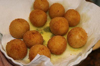 la cuisine de bernard: les boulettes frites au fromage et ma soupe