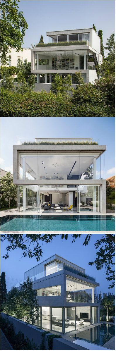 Well designed concrete cut house in israel  beautiful modern home we have seen many homes  diy pinte also rh pinterest