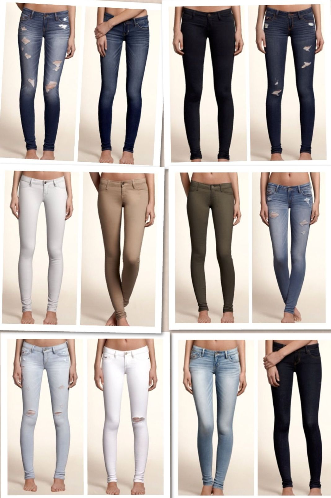 Hollister jeans are the jeans that fit me best I love them ...