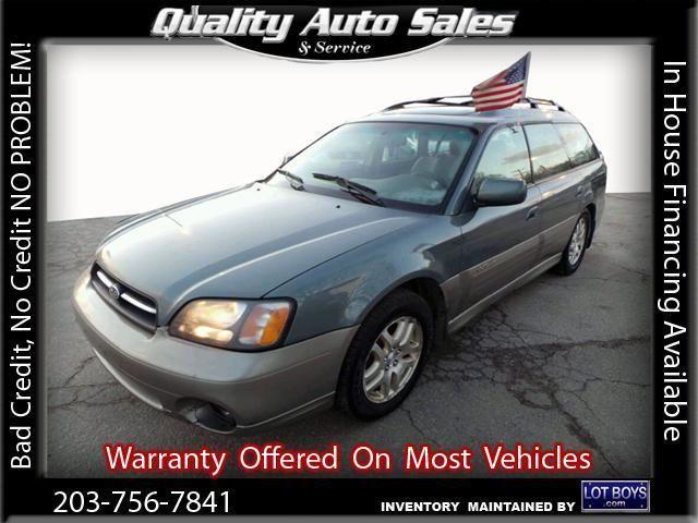 2001 Subaru Outback, 177,174 miles, $3,950.