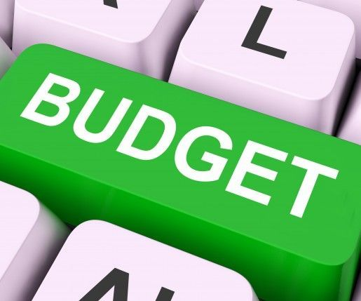 Download this free budgeting spreadsheet We used this to transition