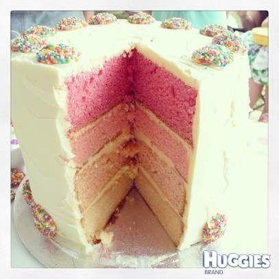 White chocolate mud cake and vanilla sponge cake, multi ...