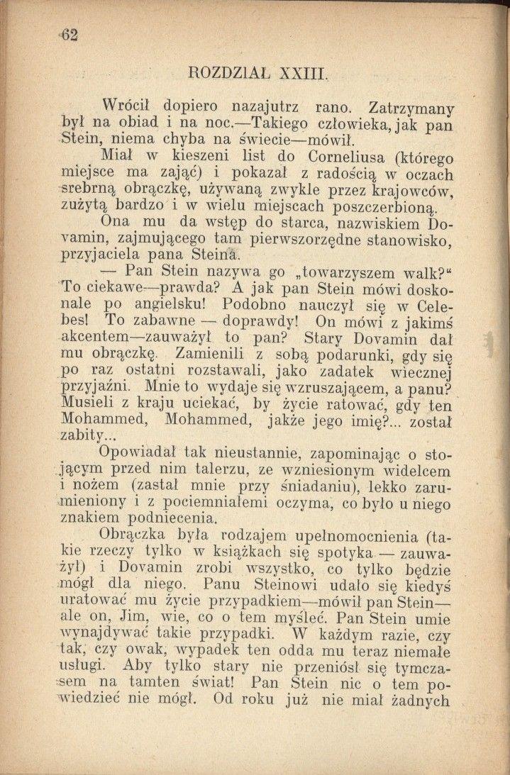 1904 Polish translation by Emilja Węsławska