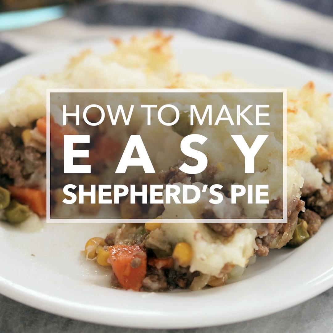 Easy Shepherd's Pie #shepardspie