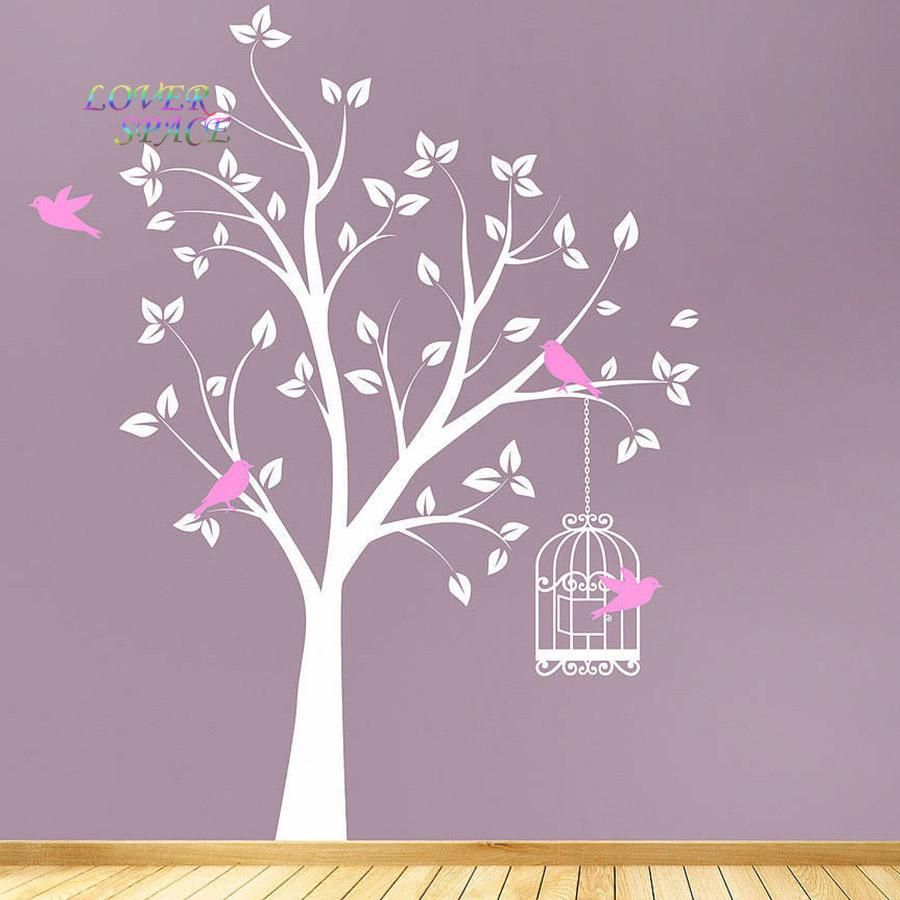 HugeTree Wall Sticker Home Decor For Kids