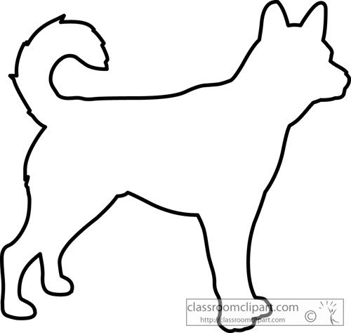 Outline Drawings of Dogs | dog_outline_630.jpg | rocks | Pinterest ...