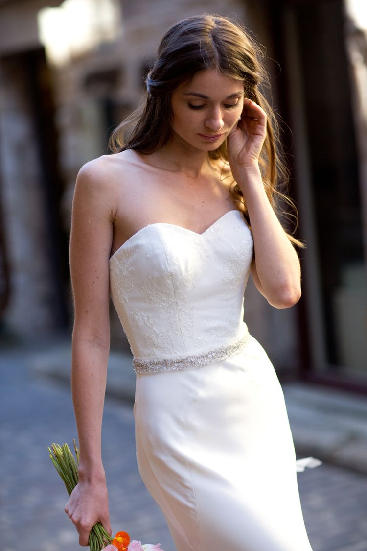 5cccf4385daf The Poppy    Moira Hughes    Wedding Dresses    Wedding Dress    Couture  Dress    Sydney Designer    French Lace    Images By Mint Photography ...