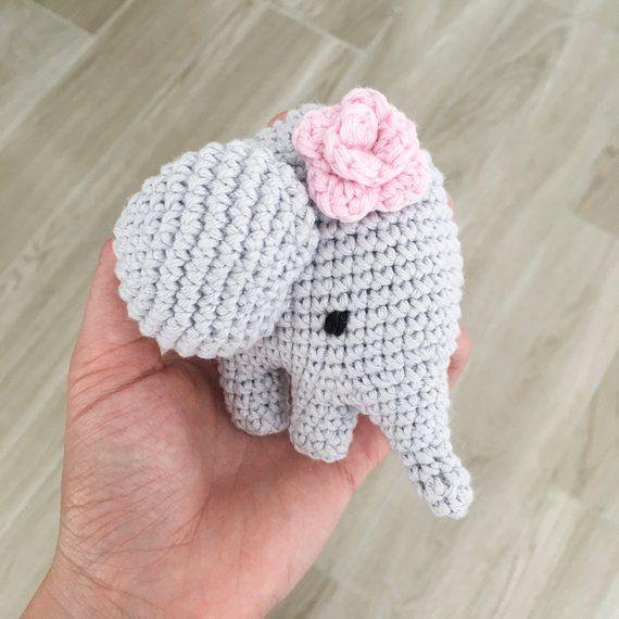 Elli Elefant Häkelanleitung Amigurumi Deutsch English