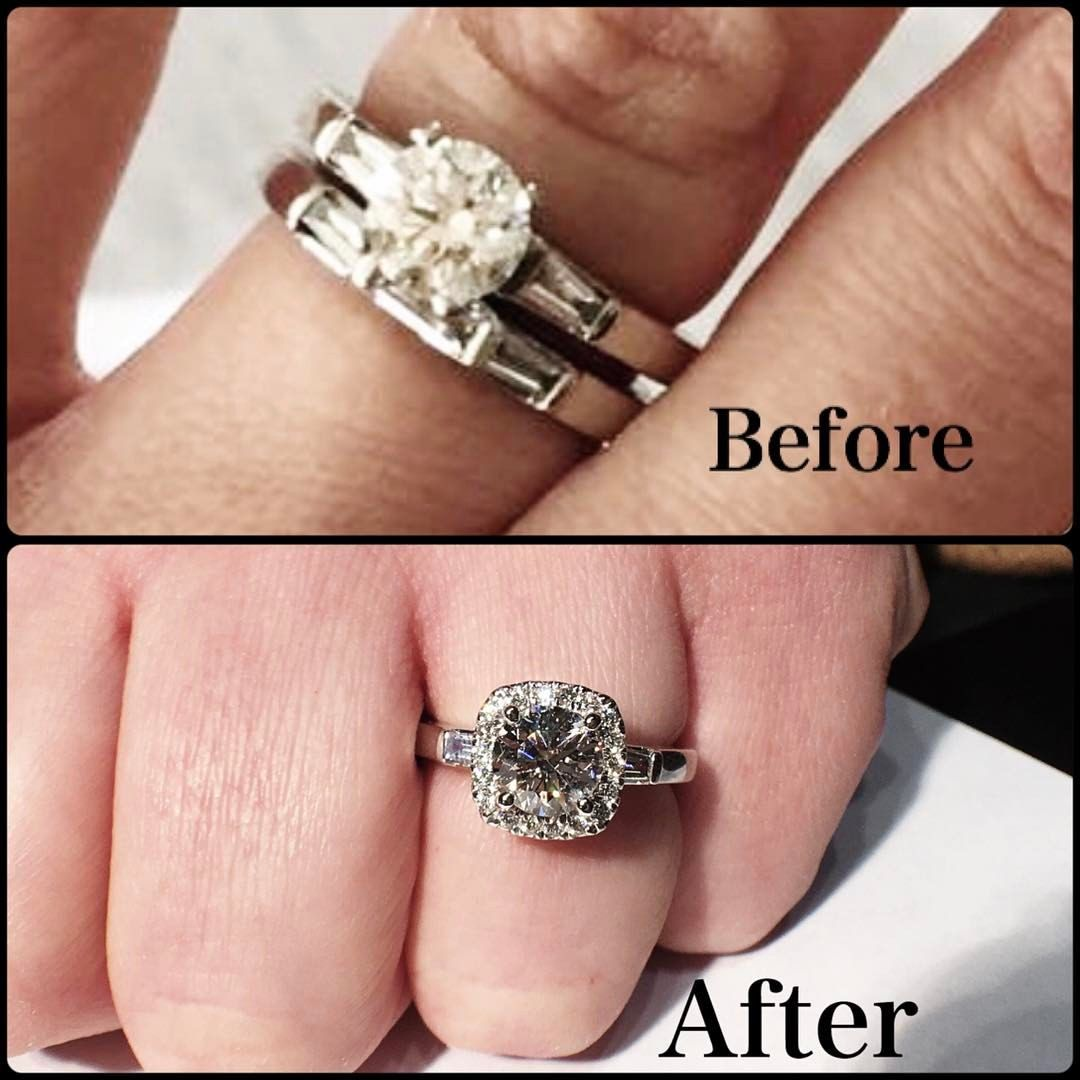 My client came to me to add a halo to her existing engagement. I was ...
