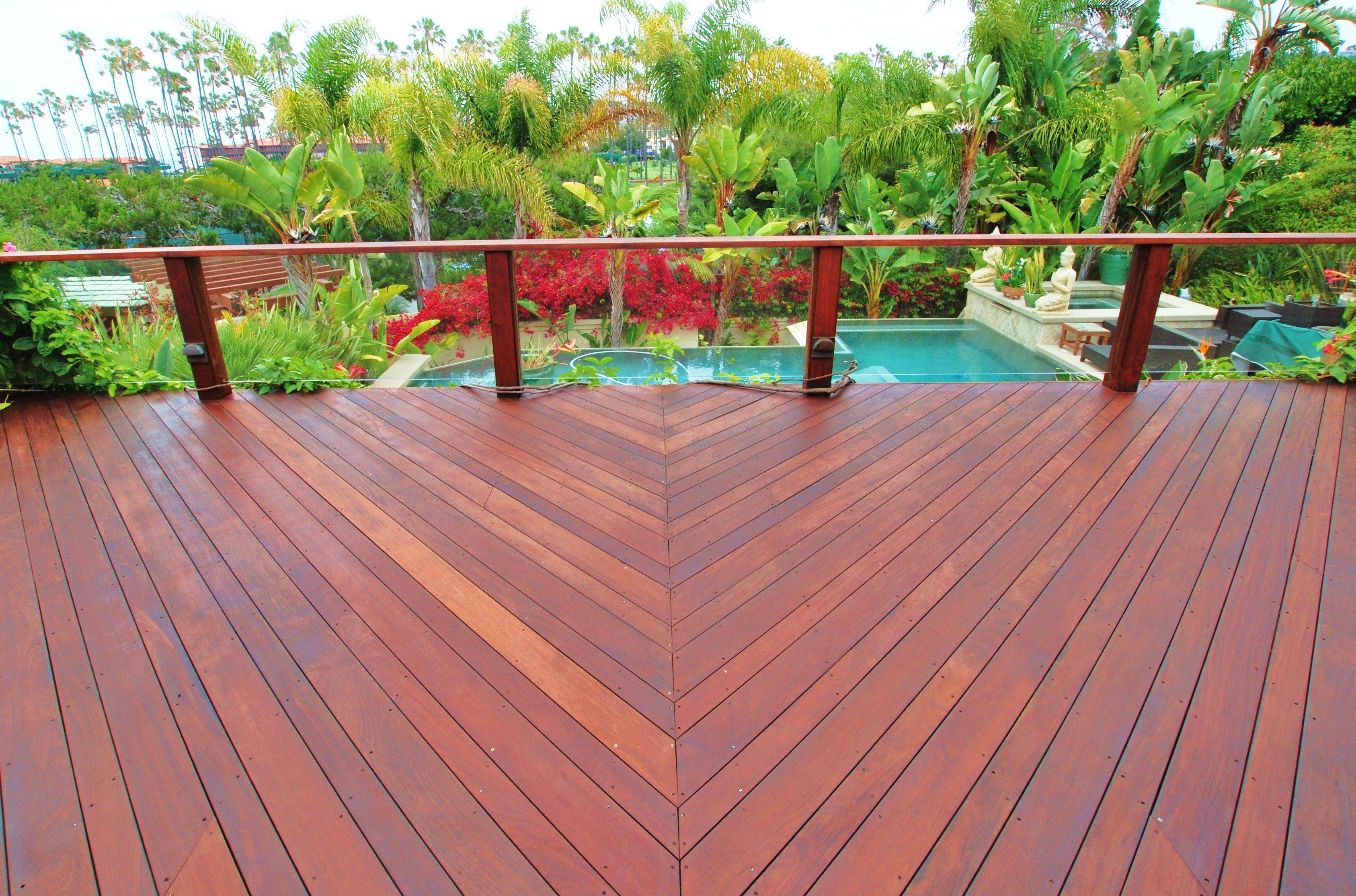 Superdeck Exotic Hardwood Stain Walnut 2502 Featured Http Www
