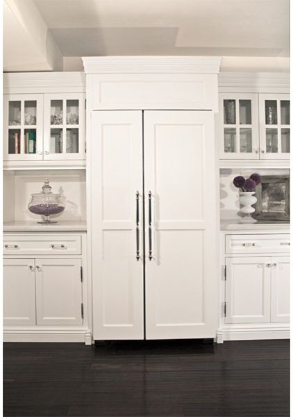 When It Comes To A Seamless Transition From Cabinets Liances Custom Paneling On The Front Of Refrigerators And Dishwashers Match Cabinetry Is
