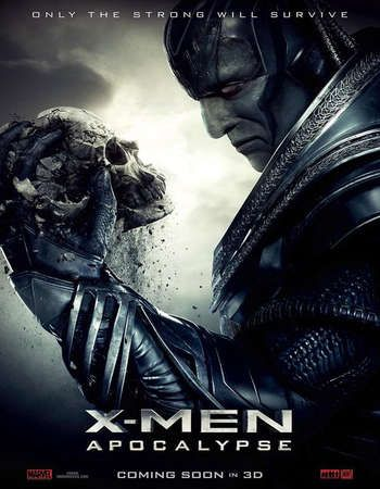 Poster Of X Men Apocalypse 2016 Dual Audio 720p Hc Hdrip Hindi English Esubs Free Download Watch Online Worldf Apocalypse Movies Xmen Apocalypse Man Movies