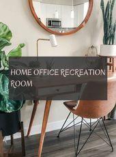 Photo of Home Office Aufenthaltsraum, #HomeOfficeRecreation Room #Recreationalroominterio…