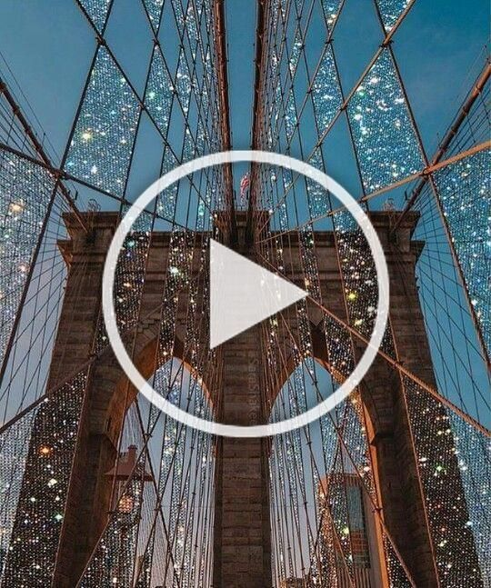 Welcome 2019 New York City Brooklyn bridge