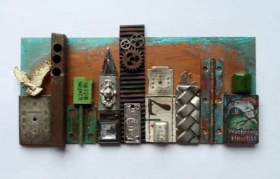 Miniature Industrial Art by jthoreson1 on Etsy, $125.00