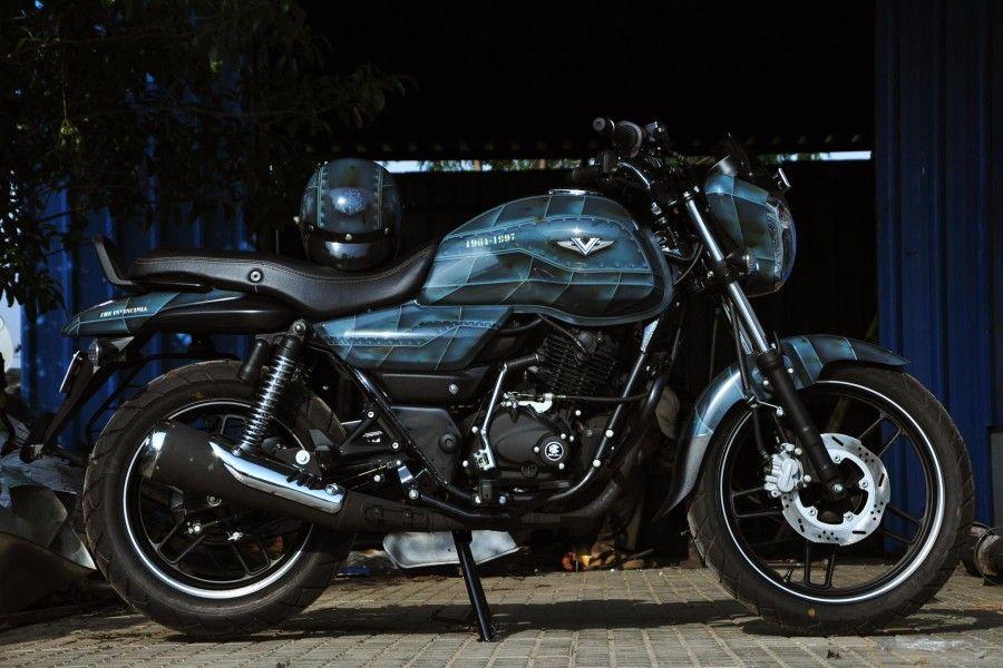 Bajaj V15 By Eimor Customs Is The Real Indian Bike Zigwheels