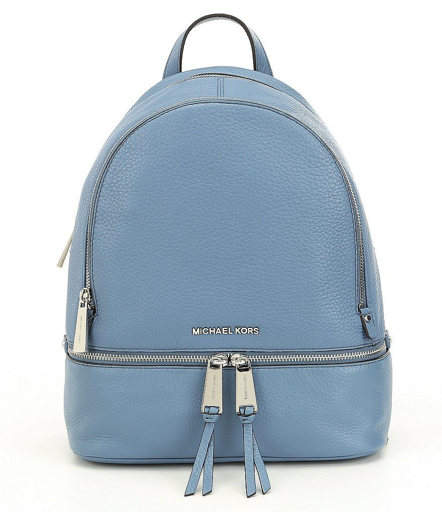 4e8e213f9e9fb MICHAEL Michael Kors Rhea Small Zip Backpack