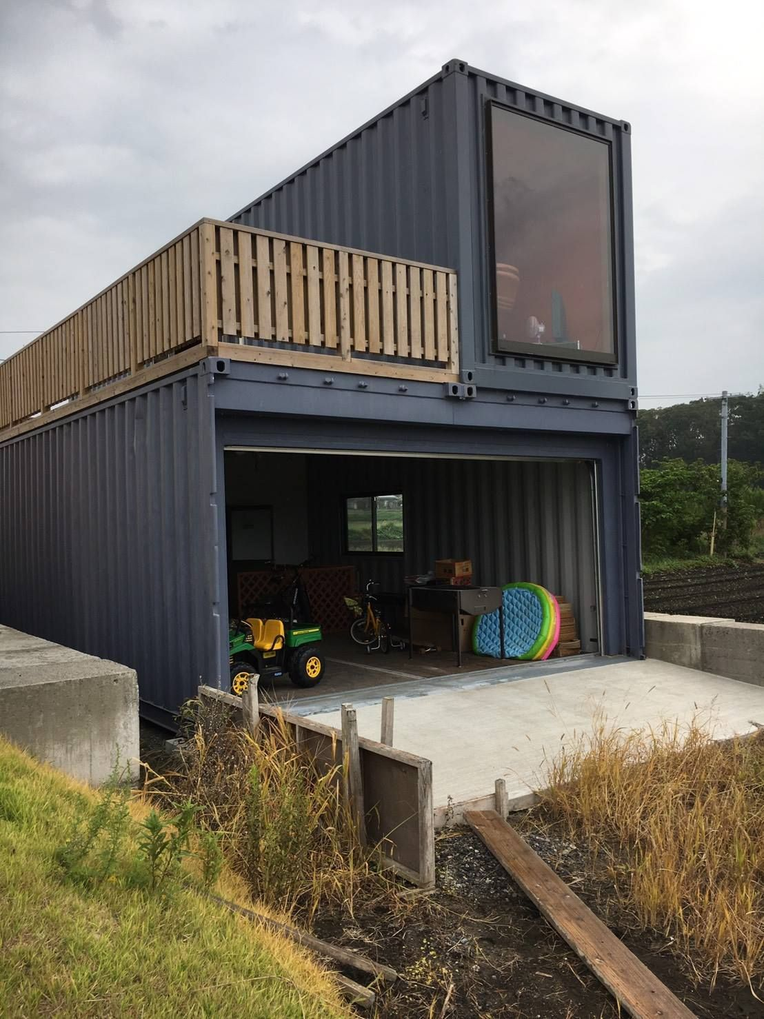 Containers Garage An Room Container House Design Container